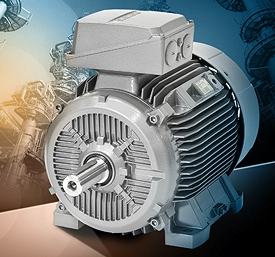 Siemens AC motors with efficiency class IE2 and IE3