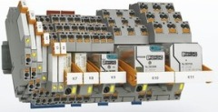 Cистема промышленных реле с зажимами PHOENIX CONTACT Push-in