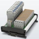 8-канальная плата Phoenix Contact для автоматических защитных выключателей