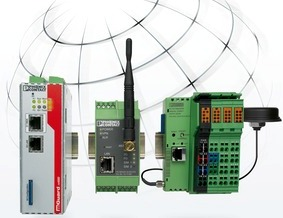 Дистанционное управление и обслуживание с помощью продукции Phoenix Contact