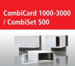 Корпуса Bopla CombiCard 1000-3000 и CombiSet 500