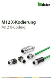 Binder M12 connectors with X-coding