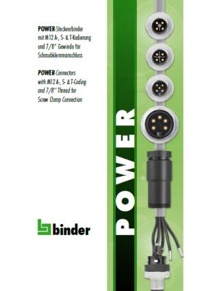 Binder Power catalogue