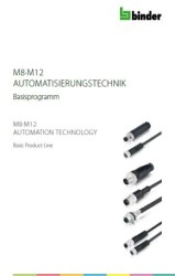 Binder basic product line automation technology M8-M12