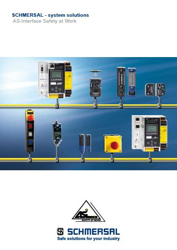 SCHMERSAL system solutions AS-Interface safety at work