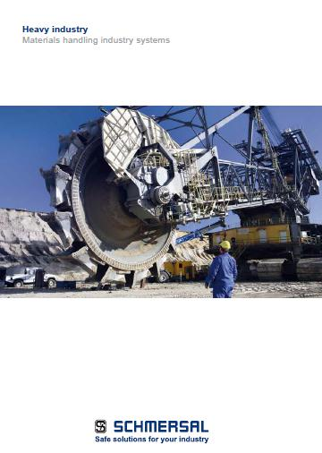 Schmersal heavy industry materials handing