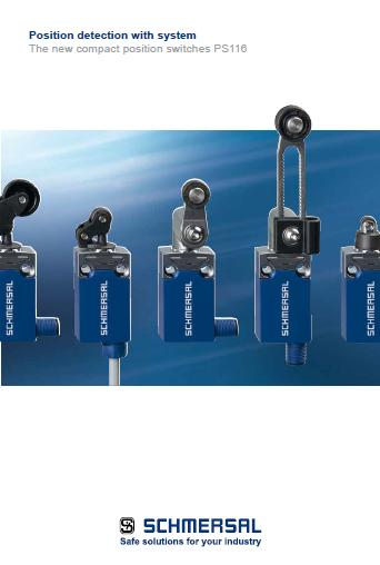 Schmersal compact position switches PS116