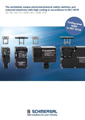 Schmersal electromechanical safety switches AZ 16i AZ 17i AZM 161i AZM 170i