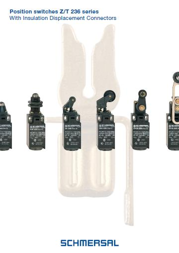 Schmersal position switches Z and T 236 series