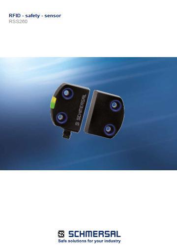 Schmersal RFID safety sensor RSS260