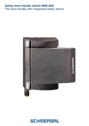 Schmersal safety door-handle switch BNS-B20