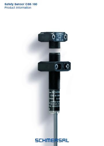 Schmersal safety sensor CSS 180