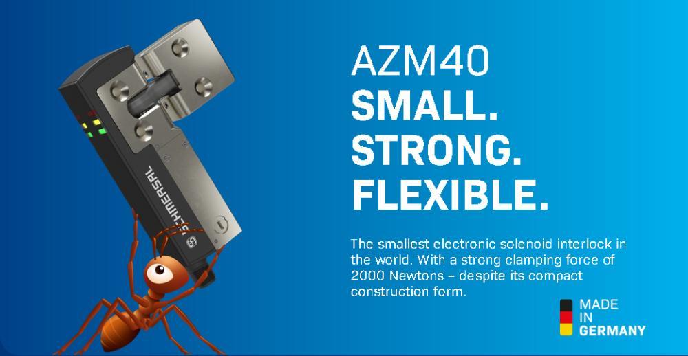Schmersal AZM40 Small Strong Flexible